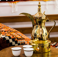 arabian mug (Mohamed.Serag) Tags: arabic arabian cafe mug coffee milk tea furniture arab sugar gold saudi egypt