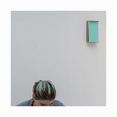 Bouts rimés (hélène chantemerle) Tags: femme art cheveux vert woman hair green