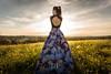 Earth Synergy (Daniele Pauletto) Tags: light nature landscape model girl fashion sensual goldenhour hope modella shoulders back beauty bellezza dress dpphotography