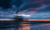 West Pier Sunset (selvagedavid38) Tags: brighton west beach waves tide clouds english channel sussex ruins