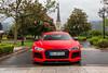 ABT R8 V10 Plus 2015 (Nico K. Photography) Tags: audi r8 v10 plus abt red matte rare supercars nicokphotography rain wet switzerland badragaz