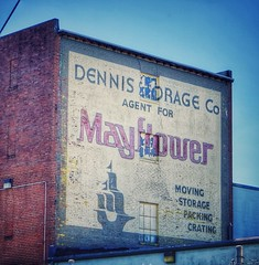 "Dennis Storage (podolux) Tags: building 2017 ""september2017"" ""movingandstoragecompany"" ""movingandstorage"" ""roadtrip"" ""salisburymd"" md maryland salisbury ""paintedsign"" ""ghostsign"" ""sonya7"" sony postprocessing"