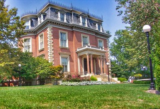 Jefferson City ~ Missouri ~  Missouri Governor's Mansion ~ HIstoric Mansion