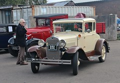 "1930 Ford A, Ipswich Transport Museum ""Classic Vehicle"" event, 7th. October 2017. (Crewcastrian) Tags: ipswich transport cars ford ipswichtransportmuseum"