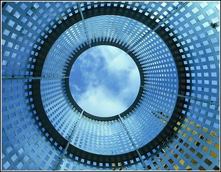 Inside Looking Up.
