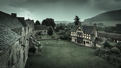 Stokesay castle (Ramireziblog) Tags: stokesay castle shropshire kasteel manor baldwyns britton craven house landscape landschap regen rain canon 6d
