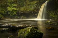 Sgwd Gwladys (cliveg004) Tags: sgwdgwladys waterfall wales breconbeacons pontneddfechan ystradfellte le longexposure river water swirl boulders nikon d5200 afon pyrrdin