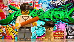 such as dog master! hip hop (black.zack00) Tags: hip hop rap lego toys dog master such figurine graffiti funny humour afol minifig