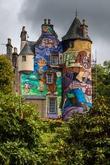 Kelburn Castle (Matthias-Hillen) Tags: scotland schottland united kingdom grosbritanien largs fairlie kelburn castle estate landscape highland highlands matthias hillen matthiashillen grafitti