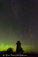 Lights ON! And... ACTION! (Photo-Bytes) Tags: aurora canada hecla heclaisland manitoba nightphotography