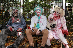 London Zombie Walk 2017 VI (Lee Nichols) Tags: londonzombiewalk2017 worldzombiedaylondon2017 worldzombieday zombie zombiewalk zombies photoshop
