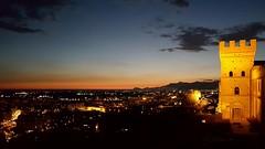 """Battipaglia  dalla """"Castelluccia"""" con Capri e i faraglioni sullo sfondo (giuseppe provenza) Tags: capri battipaglia tramonto sunset sea panorama provenza castelluccia"""