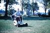 Found Photo - Kid on Lawnmower (Mark 2400) Tags: found photo lawnmower lawn mower