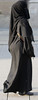 woman in black (niqabi_travel) Tags: niqab veil muslim woman lady hijab headscarf