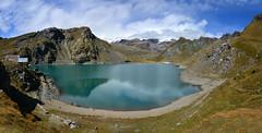 Il Lago Gabiet e il Monte Rosa (supersky77) Tags: monterosa gabiet lago lake lac gressoney lys alps alpi alpes alpen valledaosta vallèedaoste