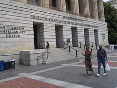 USA American Art DC 20170618_123317 (CanadaGood) Tags: usa america dc washington smithsonian nationalportraitgallery building museum sign people person artgallery cameraphone 2017 thisdecade canadagood colour color text architecture