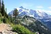 Chain Lakes Trail  & Mt Shuksan (gerry.bates) Tags: landscape mountainlandscape mountains nature cascademountainrange cascades mtbakersnoqualmienationalforest washington wa hiking outdoors mtshuksan chainlakestrail