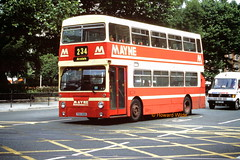 Mayne, Clayton 31 (THX 601S) (SelmerOrSelnec) Tags: mayne clayton leyland fleetline parkroyal thx601s b20 dm manchester portlandstreet londontransport bus
