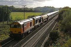 Willington, South Derbyshire (DieselDude321) Tags: 20314 20905 20107 20096 class 20 gbrf harry needle rail 7x08 1555 derby litchurch lane banbury willington south derbyshire