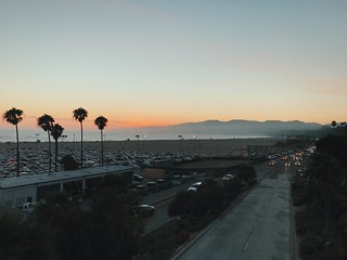 sunset and pch.