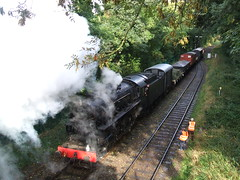 5197 with freight load (DGPhotography1999) Tags: 5197 wsr steamlocomotives steamtrain westsomersetrailway