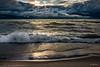 Stormy Sunset (JulieNMansour) Tags: waves clouds approachingstorm ludington lakemichigan