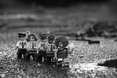 Force Blue (minifigphoto) Tags: lego legophotography legoart miniatureart miniaturephoto minifigs cute kawaii minifigure legoaddict legoaddiction legolove legofun upclose macro toyphotography lovephotography geek toyphotographers police exercise running