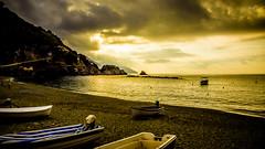Amanece en Monterosso, Cinque Terre (pepoexpress - A few million thanks!) Tags: nikon nikkor d750 nikond750 nikond75024120f4 24120mmafs pepoexpress boats sea clouds monterosso cinqueterre italy liguria sunset sunrise amanecer puertadelsol tormenta