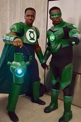 DSC_0881 (Randsom) Tags: newyorkcomiccon 2017 october7 nycc comic convention costume nyc javitscenter dccomics superhero justiceleague jla greenlantern matchingcostumes duo africanamerican black cosplay