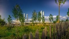 Bordeaux Fence (YᗩSᗰIᘉᗴ HᗴᘉS +8 500 000 thx❀) Tags: bordeaux france gironde aquitaine bridge pont pontchabandelmas hff fence fences happyfencefriday tree arbre hensyasmine sky bluesky clouds
