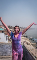 Varanasi - Holi Colour Festival-8