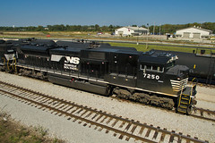 NS 7250 (Trainboy03) Tags: norfolk southern ns 7250 silvis illinois il