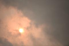 Red Sun - 2 (rq uk) Tags: rquk nikon d750 sun red cloudy redsun hurricaneophelia nikond750 afsnikkor70200mmf28efledvr wokingham