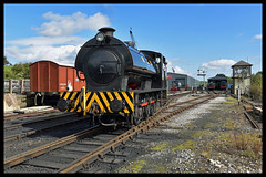 No 35 NCB Norman 19th Sept 2017 Embasy & Bolton Abbey Railway (Ian Sharman 1963) Tags: no 35 ncb norman 19th sept 2017 embasy bolton abbey railway hunslet engine company austerity 060st station steam rail railways train trains loco locomotive heritage line ebsr