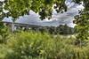 Lake Obersee (HDRforEver) Tags: hdr canon 600d bielefeld nrw nordrheinwestfalen owl ostwestfalen lake fluss green august new interesting sky bluesky bridge brücke landscape photomatix water park