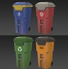 Trashcan (Deco Objects) (hypesol) Tags: additional art bin can decor exterior gameart gameready lowpoly outdoor props public street trash trashcan