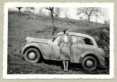 "Opel Kadett Spezial (Vintage Cars & People) Tags: vintage classic black white ""blackwhite"" sw photo foto photography automobile car cars motor opel 1930s thirties lady girl woman kadett kadettspezial k38 ladyssuit femalesuit fashion"