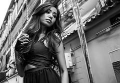 Bangkok girl (RichardB007) Tags: girl bkk siam asia asian bangkok thai thailand street lady pretty cute beauty asianbeauty bw blackwhite