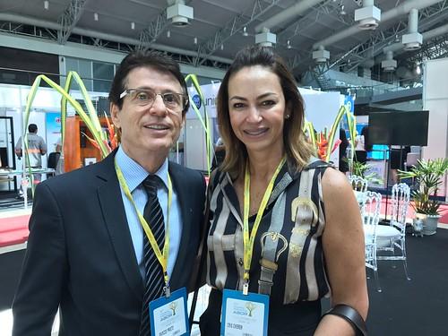 Marcos Prieto e Cris Cherem