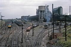 S & L Corby steelworks (TrainsandTravel) Tags: england angleterre standardgauge steamtrains voienormale trainsavapeur dampfzug normalspur industrialrailway ironstone chemindeferindustriel pierredefer industriebahn eisenstein northamptonshire corby corbysteelworks stewartlloyds 060st