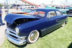 1950 Ford (bballchico) Tags: 1950 ford shoebox chopped kristibridgman bentfenders goodguyspacificnwnationals carshow