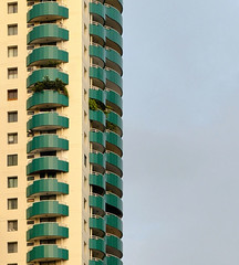 green (poludziber1) Tags: building bangkok city colorful cityscape color colorfull capital street streetphotography skyline summer sky travel tower thailand urban architecture asia