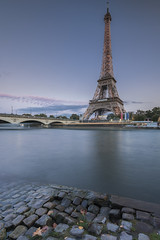 Monument in the Town (pourkoiaps) Tags: 1635mmf4afs eiffeltower france laseine light longexposure longueexpostion monument nikond810 paris pavets toureiffel tourisme ciel sky cityscape urbanscape
