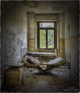 I can arrange a cot for you in this room...!