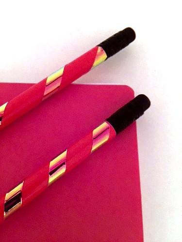 wrap pencils