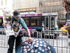 Anti_Trump Button Seller (UrbanphotoZ) Tags: buttons antitrump seller trumptower poster umbrella clown notmypresident donaldtrump vladimirputin thatsmyboy diaper lockhimup repealreplace healthcareisahumanright wahwahfakenews tipthebaby polluterinchief onlyyoucanresistfascistliars dump missmeyet plaidshirt cap n4 bus midtown pennstation mondays barriers fifthave manhattan newyorkcity newyork nyc ny resist trump