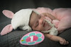 No Words... (sebastian.werner) Tags: green month newborn infant cute bunny tutu birthmonth onemonth sleepy sweet baby soft pink ears sonya7ii sonymirrorless a7ii