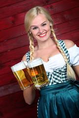 Oktoberfest Bier (FotoDB.de) Tags: bier brezel dirndel dirndl frau masskrug mas oktoberfest wiesen wiesn