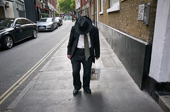 Jack the hat (Stubwoi) Tags: london streetphotography street uk city hat fedora suit tie ricohgr
