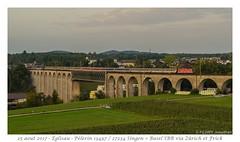 "Re 4/4"" Pèlerin - Eglisau (CC72080) Tags: re420 re44 viaduc eglisau pèlerin sncb ffs cff sbb train locomotive"